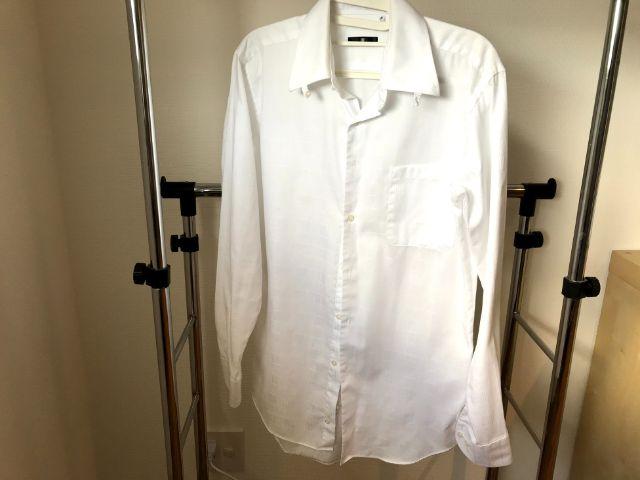ワイシャツ スチーマー後