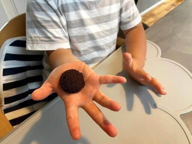 ベースクッキーの大きさ